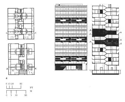 Alvar Aalto | Flats at Hansaviertel | 1957