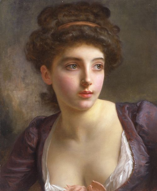 164 best GUSTAVE JEAN JACQUET images on Pinterest | Painting ...