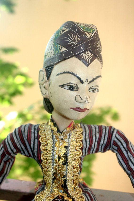 Beautiful Antique Javanese Wayang Golek Rod by AntiqueAlchemyShop