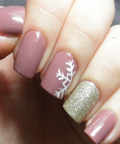 Perfect Winter Nail Art