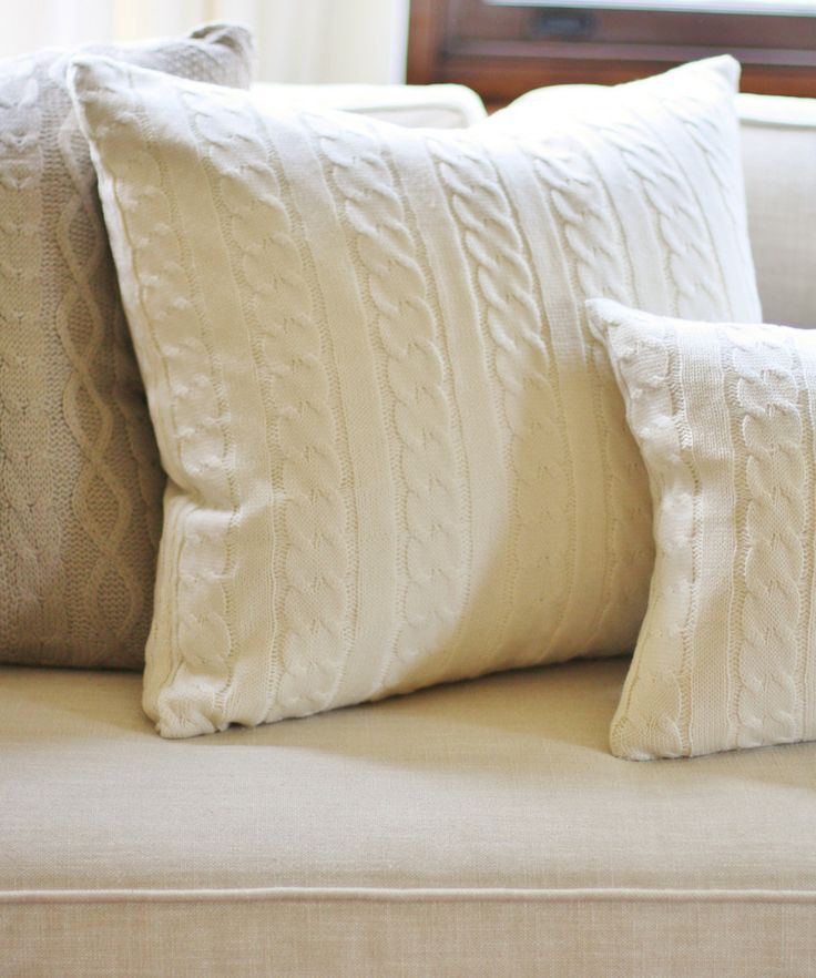 11 best images about Knitted Throw Pillows on PinterestHome