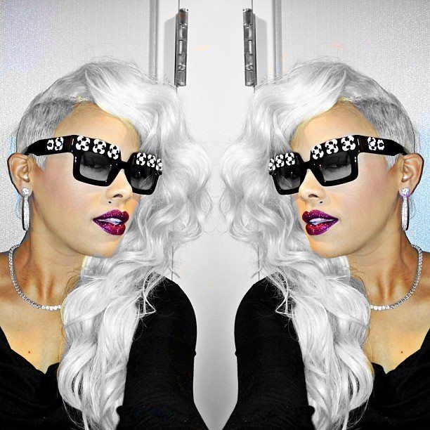 Keyshia Kaoir Funky Hairstyles Hair
