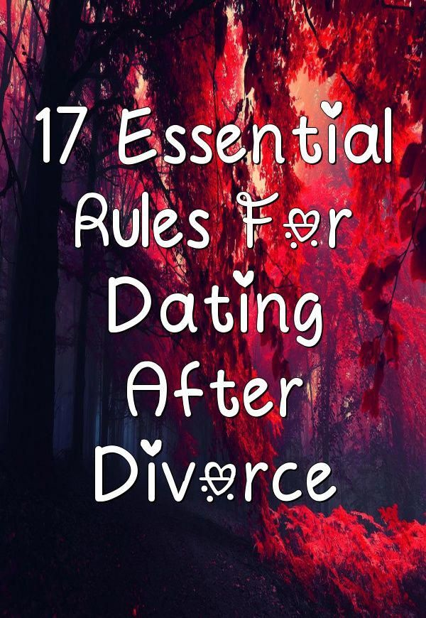 post break up dating rules