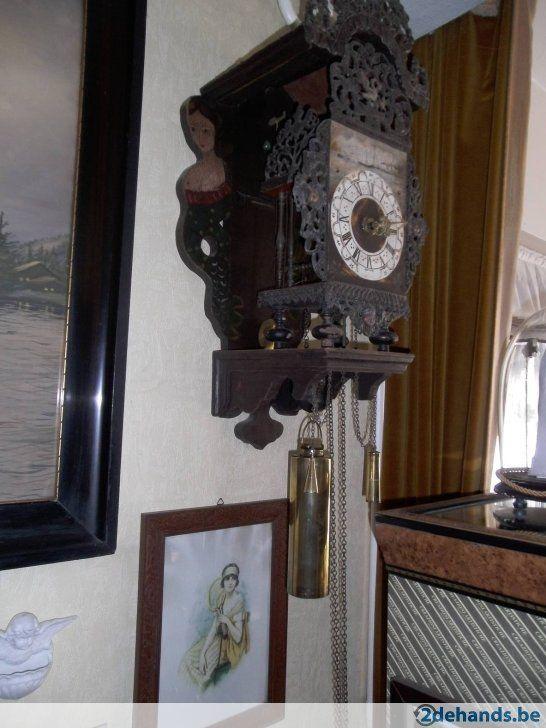 oude friesestoelklok intact eind 1800