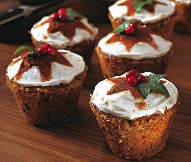 Recept: Muffins med lingon, kokos och choklad (Swedish)