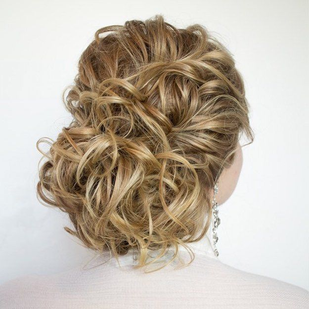 Homecoming Hairstyles messy loose updo with fishtail 12 Curly Homecoming Hairstyles You Can Show Off