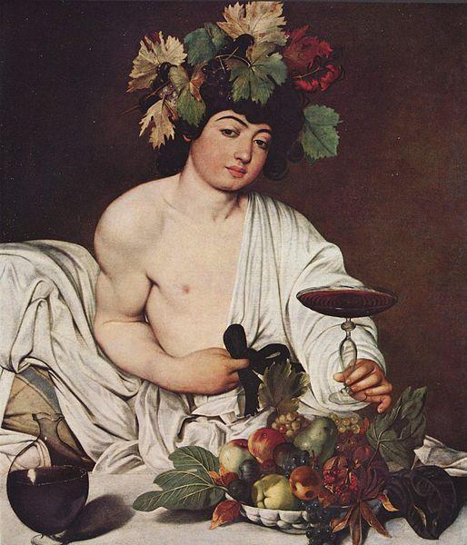 Baco/Dioníso... É o deus do vinho, da ebriedade, dos excessos, especialmente sexuais, e da natureza Baco (em grego: Βάκχος, transl. Bákchos; em latim: Bacchus; em italiano: Liber ou Liberato) é um nome alternativo, e posteriormente adotado pelos romanos, do deus grego Dioníso, cujo mito é considerado ainda mais antigo por alguns estudiosos.