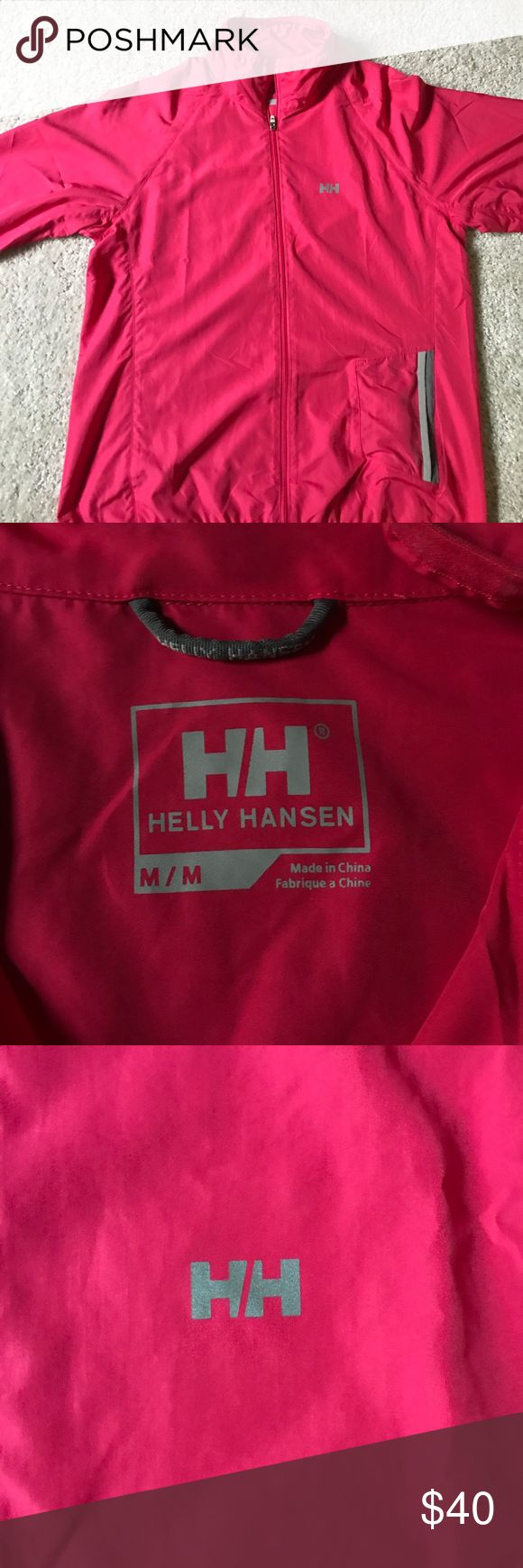 Helly Hansen light jacket Lightweight Helly Hansen jacket. Only worn a few times in excellent condition Helly Hansen Jackets & Coats