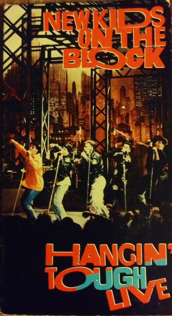 1989 New Kids on the Block VHS.   Had it. Wore it out watching it with my best friend Christina.