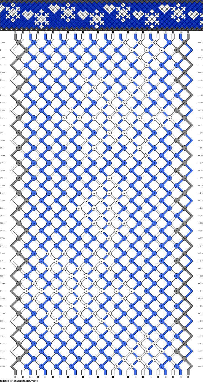 can someone replicate this frozen pattern? - Forum thread - friendship-bracelets.net