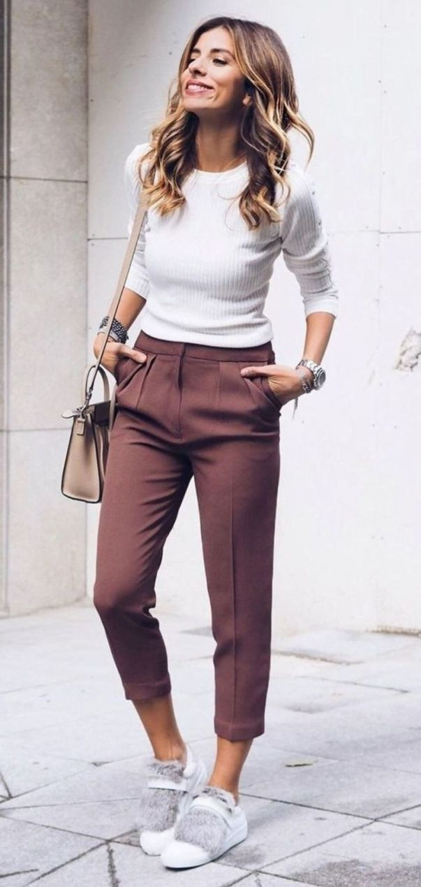 30 Stunning Work Outfit Ideas With Sneaker