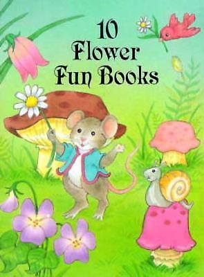 10 Flower Fun Books by Dover Publications Inc, 9780486297514.