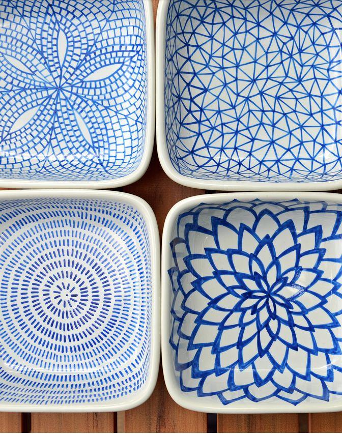 DIY floral pattern tealight holders #FlowerShop