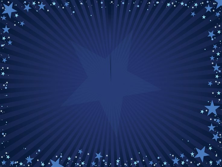this free blue stars powerpoint template is a simple