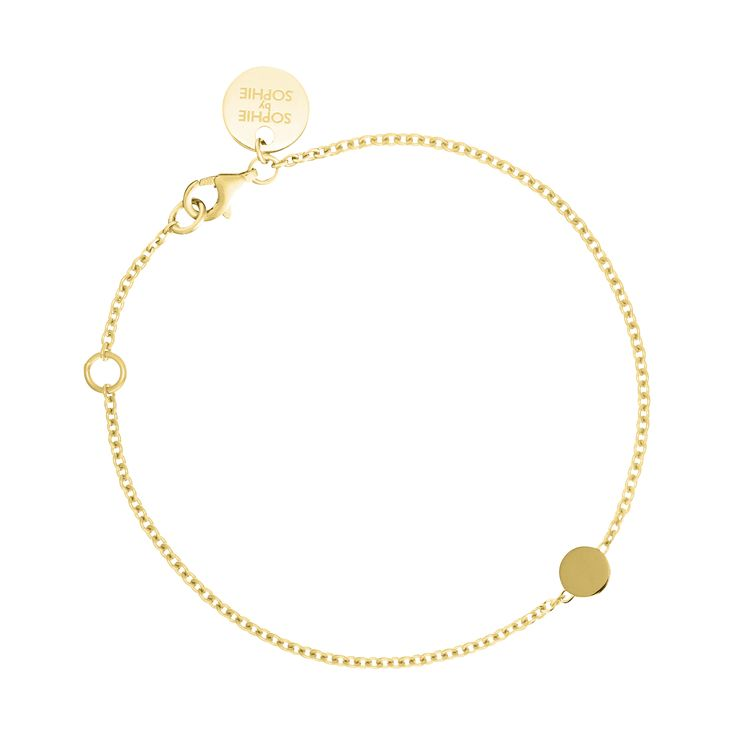 Sofia Bracelet in gold plated silver