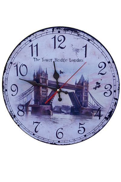 London Bridge Wall Clocks  www.fashiongroop.com