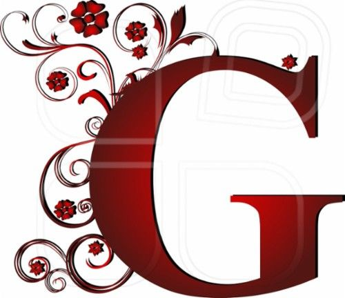 capital letter red G