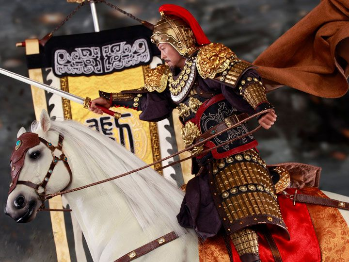 #transformer Three Kingdoms Series Liu Bei (Xuande) Armed Ver. 1/6 Scale Figure & Horse Set