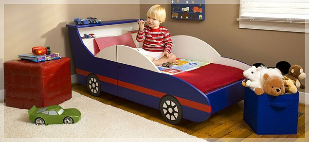 This is one of those pre-nuptial agreements I made with Kevin. Our children will have car beds. Hopefully hand-made.