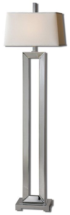 DecRenew: Carolyn Kinder 28595 Coffield Metal Transitional Floor Lamp UM-28595