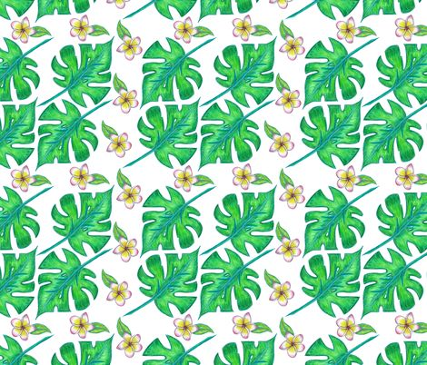 Tropicana fabric by rosy_lees on Spoonflower - custom fabric