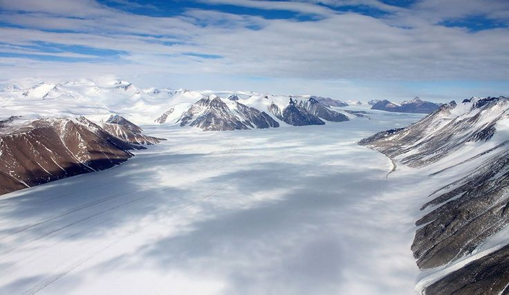 glaciares Glaciar Ferrar