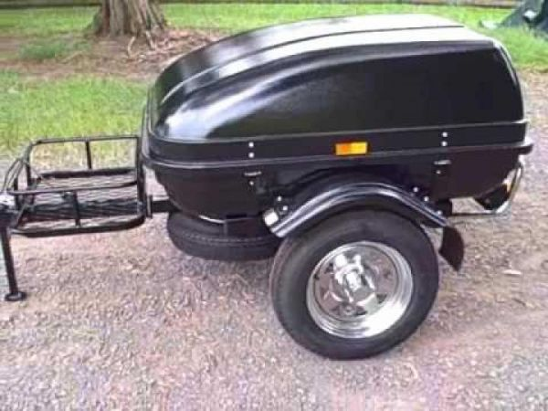 Small Car Trailer : Small trailers to pull behind your car travel