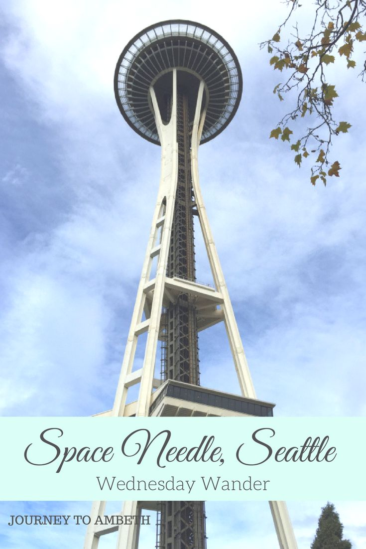 My visit to the Space Needle in Seattle!