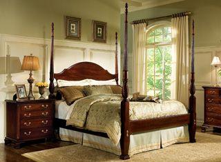 Broughton Hall Birkdale Mahogany Bedroom Furniture