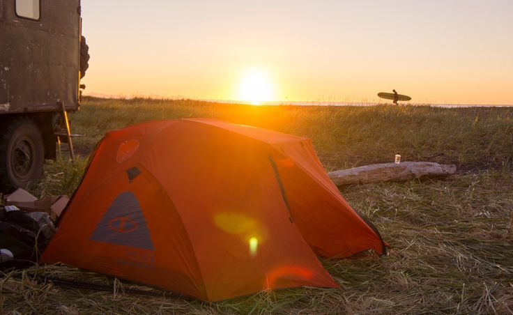 The Two Man Tent - orange  #poler #polerstuff #campvibes