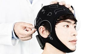 The cloth cap that could help treat depression.