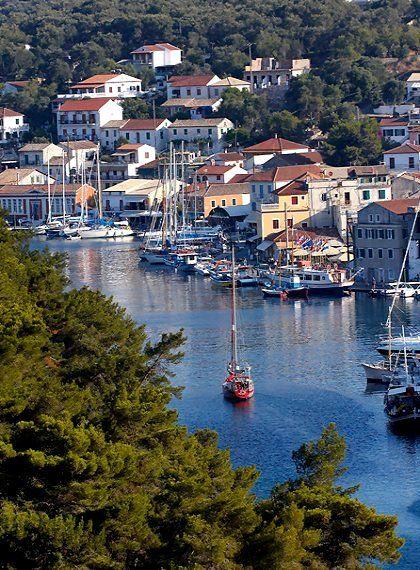 Gaios, Paxos Island (Ionian), Greece