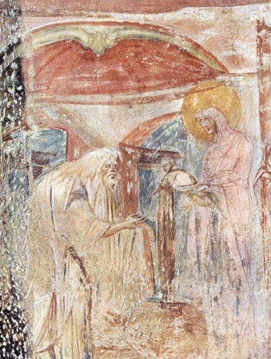 Роспись конца VII века, церковь Санта Мария Кастельсеприо, Италия