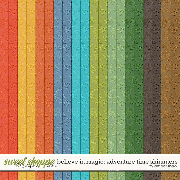Believe in Magic: Adventure Time Shimmers by Amber Shaw