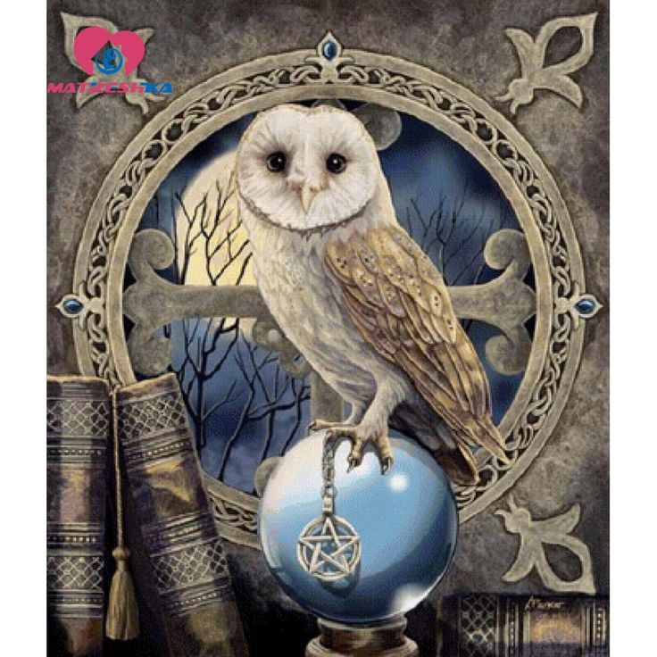 diamond painting cartoon owl Pictures of rhinestones Cross Stitch Sets Mosaic diamond full compilation 5d rhinestone art Craft #Affiliate