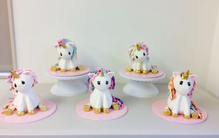 Baby Unicorn cakes