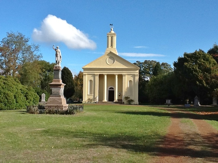 St Andrews Uniting Church 1839..Evandale,Tasmania