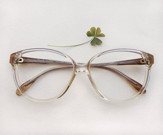 80s rhinestones eyeglasses / Vintage deadstock embellished women's sunglasses / french Stendhal designer frames / strass jeweled Eyewear by Skomoroki on Etsy