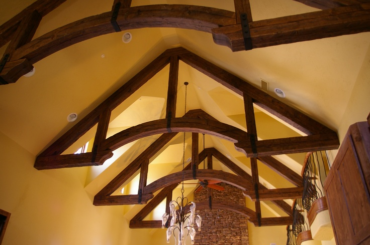 35 Best Images About Beams Amp Trusses On Pinterest Rustic