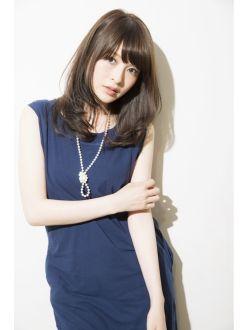 【GARDEN TOKYO JYO】透ける暗髪×大人セミロング
