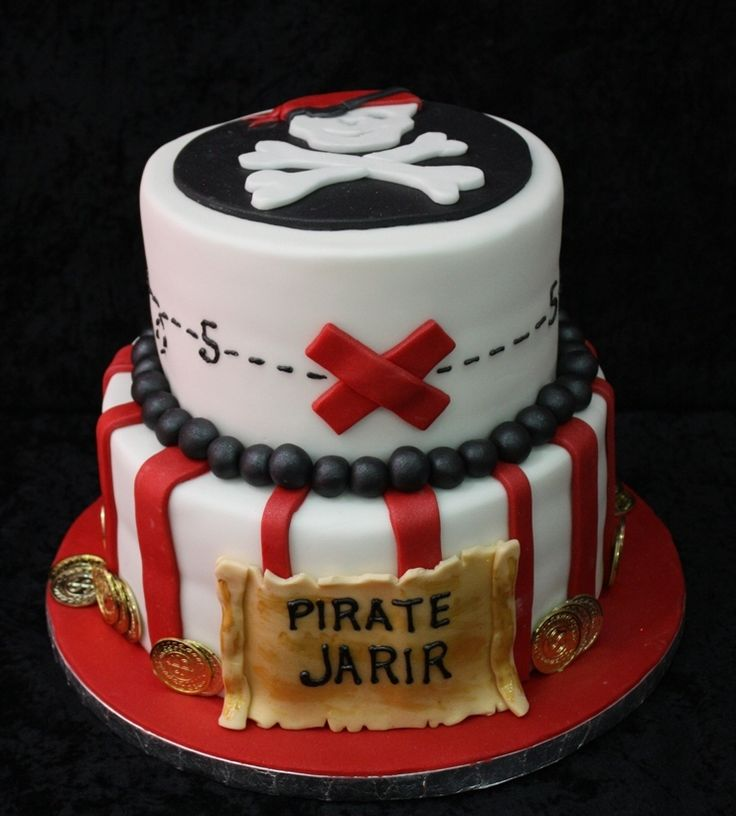 Pirate Themed Cake Decorations : 25+ best ideas about Pirate birthday cake on Pinterest ...