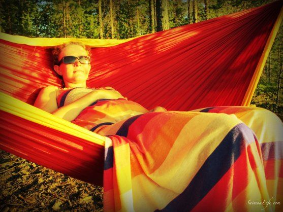 SaimaaLife, a lifestyle blog from the North full of inspiring photo...with TTTM hammocks ;)