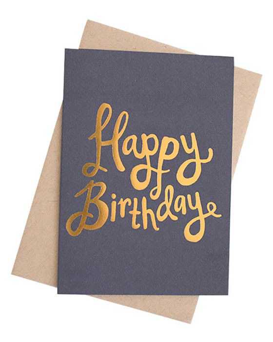 Ma and Grandy - Happy Birthday Foil Card – Daisy Chain Store