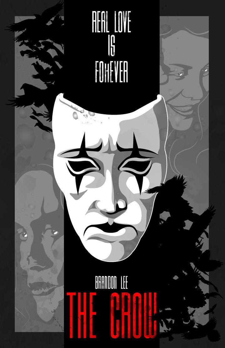The Crow-1994-Brandon Lee by 4gottenlore on deviantART
