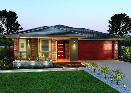 Killara 22 // Single storey home design complete with four generous sized bedrooms and multiple separate living zones