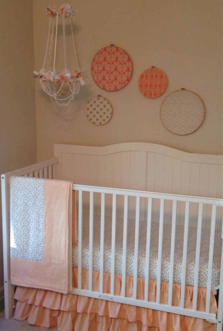 Crib bedding set gray white navy blue with by butterbeansboutique - Ready To Ship Metallic Gold Cream And Peach Bumperless Crib Bedding Set By Butterbeansboutique On Etsy