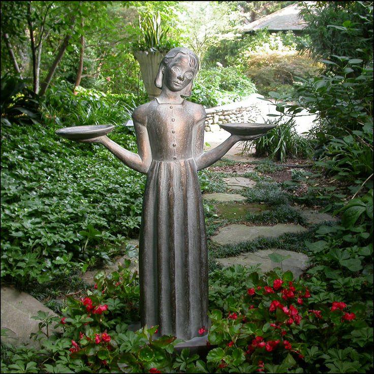 Savannah Bird Girl Garden Statue Judson Yart Art 15 Gardens Museums And Girls