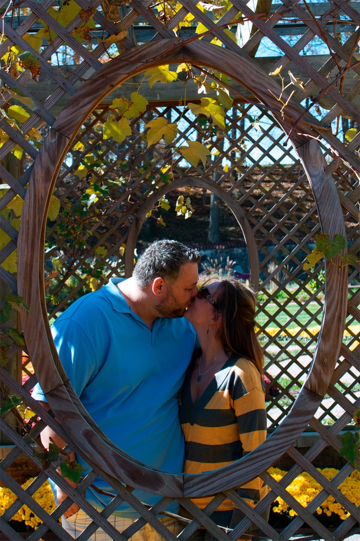 Kissing in a wicker frame.  @ biltomore.: Wicker Frame, Personal Photography, Biltomore