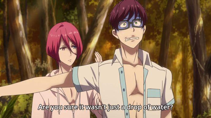 possiamo parlare della faccia spaventata di Mikado? ahahahahah