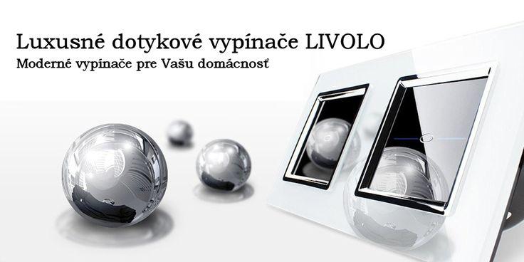 LIVOLO - svetlo na dotyk #livolo #touchswitch #dotykovyvypinac